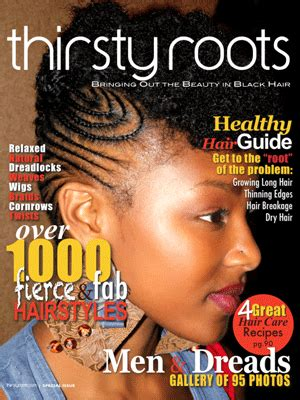 Black Hair Style Books by American Hairstyle Magazines