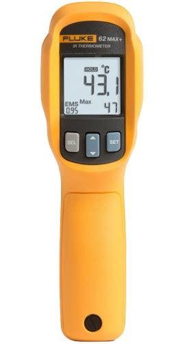 Fluke 62max Infrared Thermometer T1310 3 fluke 62 max plus infrared thermometer 30 to 650