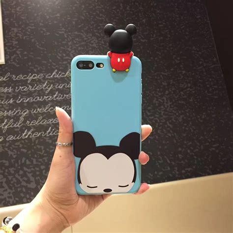 Casing 3d Disney Tsum Tsum Iphone 7 8 Minnie Mouse Casing 3d Disney Tsum Tsum For Iphone 7 Plus 8