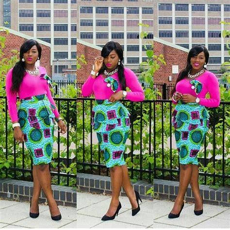 ankara combination styles pants inspired 6 ankara combination short skirts inspired