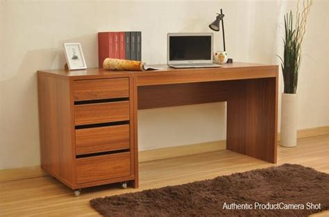 Long Computer Desk Sale Particle Board Household Wooden Study Table
