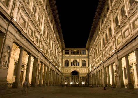 galleria degli uffici uffizi gallery in florence italy map facts location