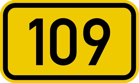 Or Number File Bundesstra 223 E 109 Number Svg Wikimedia Commons