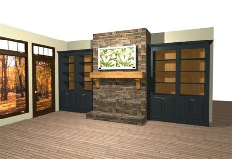 black built ins built in bookcase designs around fireplace woodworker magazine