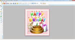 birthday card design software free happy photo cards maker for