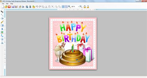 Birthday Card Maker Birthday Card Design Software Free Download Happy Photo