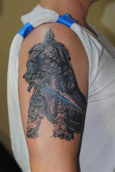 kings tattoo world of warcraft lich king tattoos tattoos