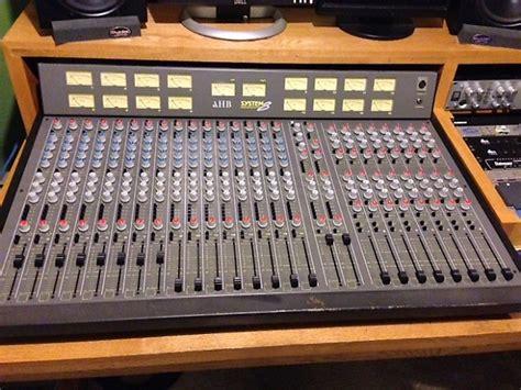 allen and heath console allen heath ahb system 8 console reverb