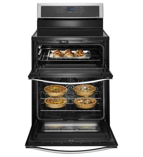 total normal electric induction wgi925c0bs whirlpool 6 7 total cu ft oven electric range with induction cooktop