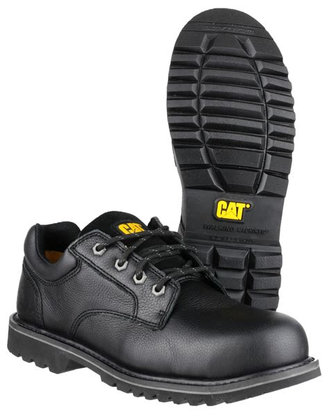 Caterpillar Bandick Safety Boots Hitam 1 caterpillar cat electric lo black safety work shoes black 9 ebay