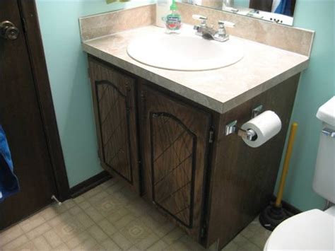 how to reface bathroom cabinets and replace doors homesteady