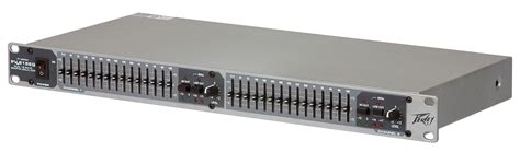 Equaliser Peavey Pv 215 15 Channel peavey pv 215eq 1u dual 15 band equalizer with led status low cut filter switch pev13 573680