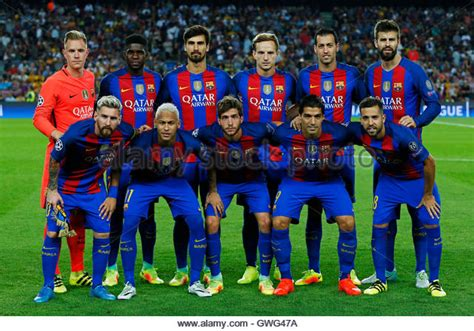 barcelona squad celtic fc team stock photos celtic fc team stock images