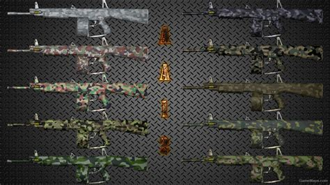 fixed camouflage aa 12 weapon skin pack killing floor 2 gamemaps