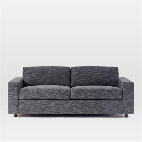 west elm urban sofa review urban queen sleeper sofa west elm