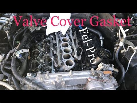 infiniti fx valve cover gasket replacement funnydogtv