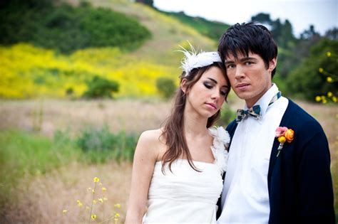 Outdoor Wedding Photography by Al Fresco California Bohemian Wedding Portraits Diy