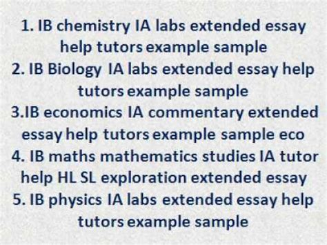 ib economics extended essay sles ib economics extended essay ia commentary help tutors