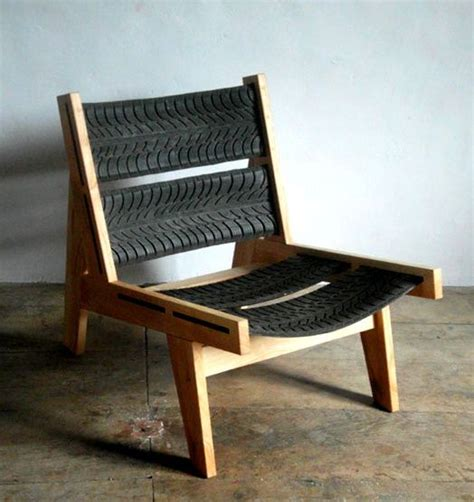 Comfortable Deck Chair Recycled Tyre Ideas