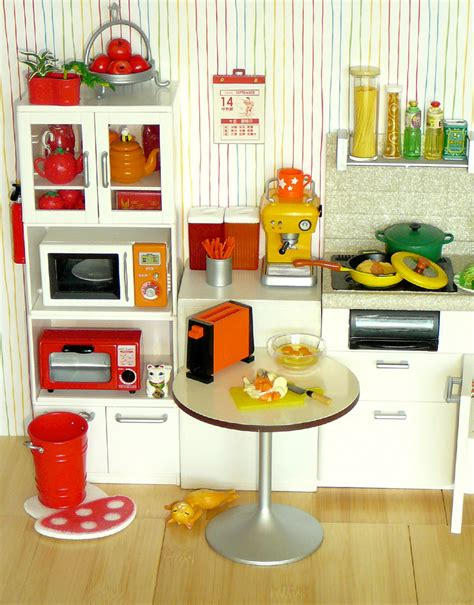 Rement Kitchen by Re Ment Rainbow Kitchen Orange Yellow I Decided To Flickr