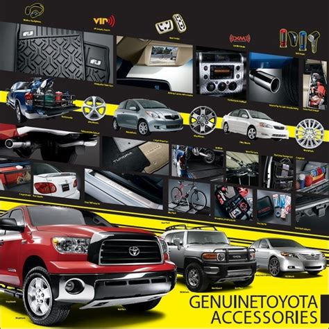 Toyota Part And Accessories Genuine Toyota Accessories Parts Accessories