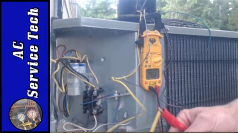 compressor fan capacitor wiring 4 wire and 3 wire condenser fan motor wiring how to eliminate 2 run capacitors