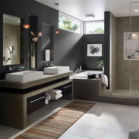 Modern Bathroom Paint Modern Bathroom Colors 50 Ideas How To Decorate Your Bathroom