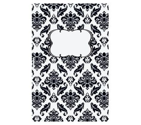 6 best images of printable binder covers black and white