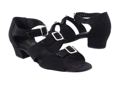west coast swing dance shoes vf 1679 nb100 15 open toe black nubuck dance shoe from