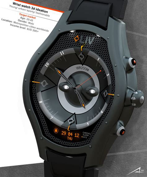 design concept watches liv watch concept was inspired by energetic young and