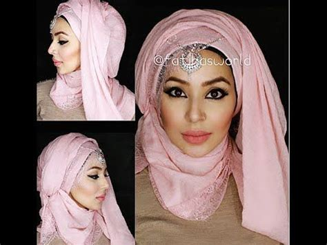 tutorial hijab turban glamour 131 best images about hijab tutorial on pinterest