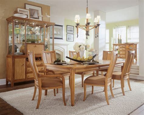 american drew antigua dining room collection