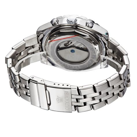 Jam Tangan Automatic No Baterai ouyawei jam tangan luxury pria oyw1032c black