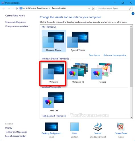 tutorial instal tema windows 7 install aerolite theme in windows 10 page 7 windows 10