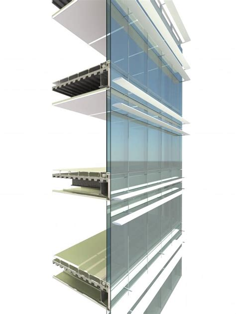 curtain wall section dwg beijing cbd z8 curtain wall section detail pinterest