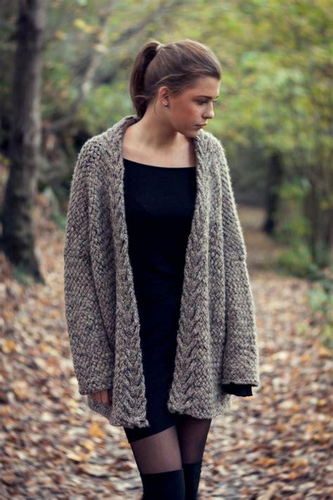 oversized cardigan pattern written knitting pattern digital pdf download for a