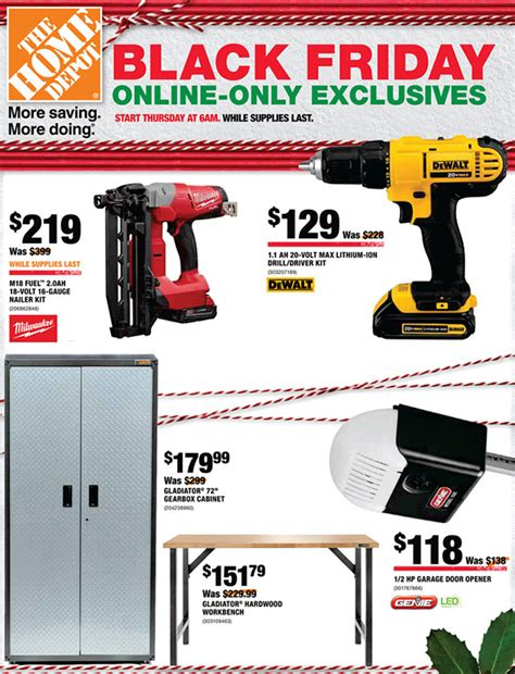 black friday tool cabinet deals home depot black friday 2017 online only specials live now