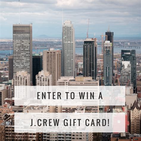 J Crew E Gift Card - 100 j crew gift card giveaway ends 7 1 mommies with cents