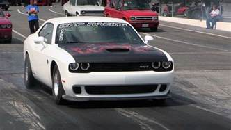 Fastest Dodge Challenger Meet The Fastest Hellcat Challenger In The World