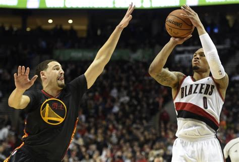 warriors trail blazers daily fantasy basketball projections trail blazers vs