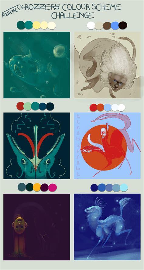 color themes deviantart rozzers color scheme challenge by ashlmet on deviantart
