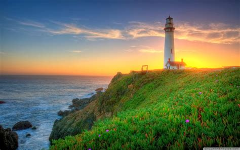 picture collection christmas lighthouse wallpaper