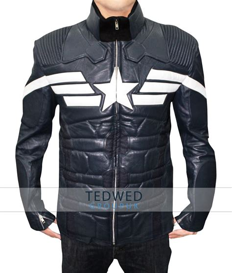 Jacket Captain America the winter soldier captain america jacket tedwed