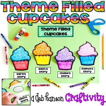 themes in literature worksheets by deb hanson teachers themes in literature craftivity by deb hanson teachers