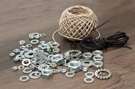 diy gifts      braided hex nut bracelets