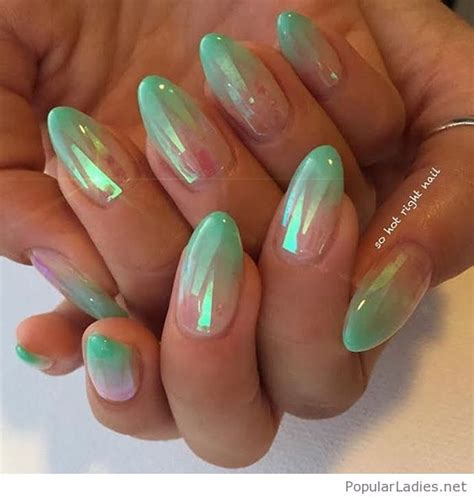 dream mermaid french gel nails