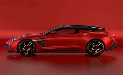 zagato aston martin aston martin vanquish zagato shooting brake is one