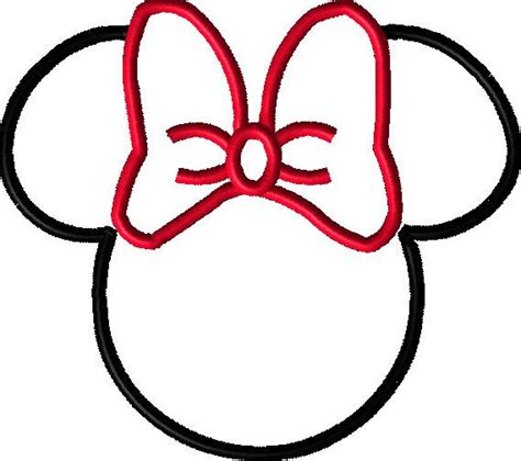 minnie mouse outline cliparts co