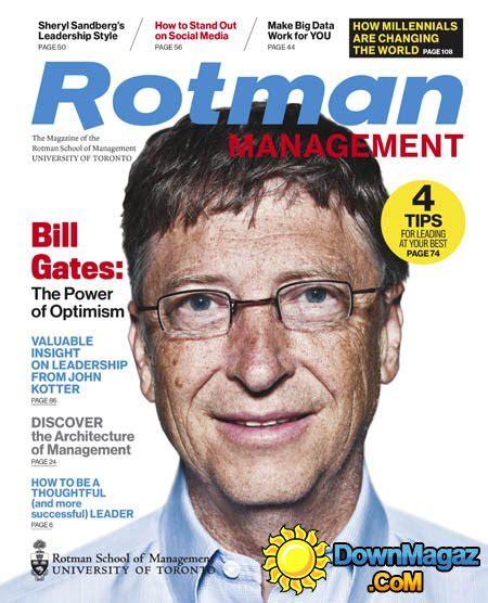 Rotman Mba Magazine by Rotman Management Ca Fall 2015 187 Pdf Magazines