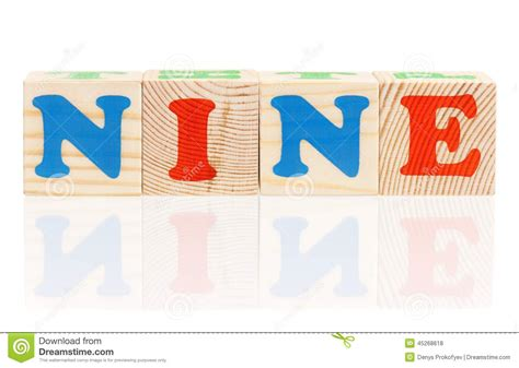 nine letter words cubes with letters stock photo image of educational 1510
